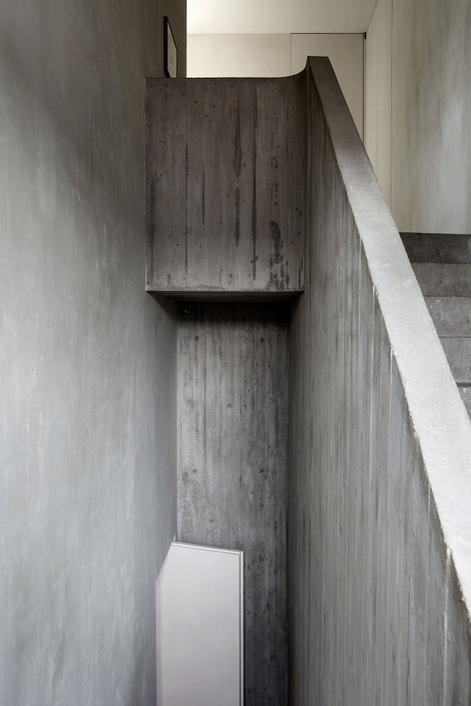staircase at the apartment by graanmarkt 13. architecture by vincent van duysen. photography by frederik vercruysse