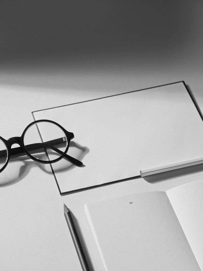Stationery. Black and white still life photography for Capco New York