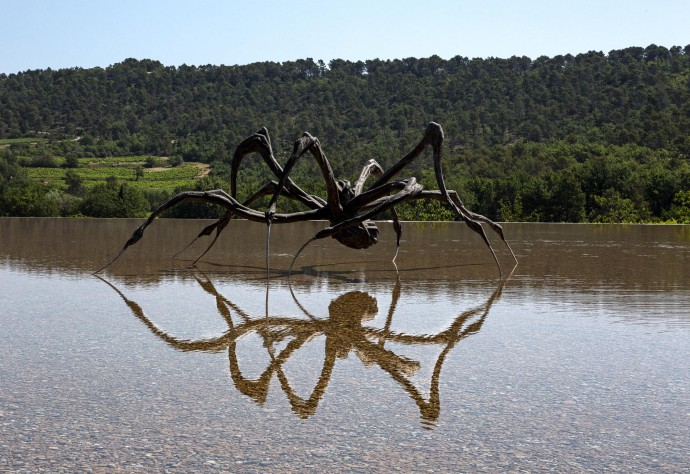 Spider. Louise Bourgeois at Chateau La Coste