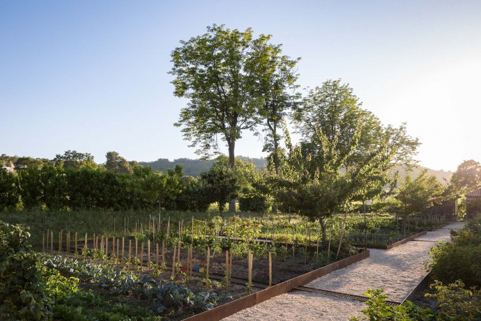 Louis Benech's kitchen garden at Chateau La Coste