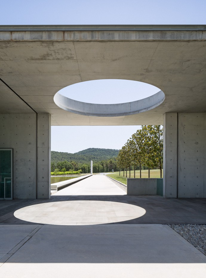 Tadao Ando Art Centre at Chateau La Coste