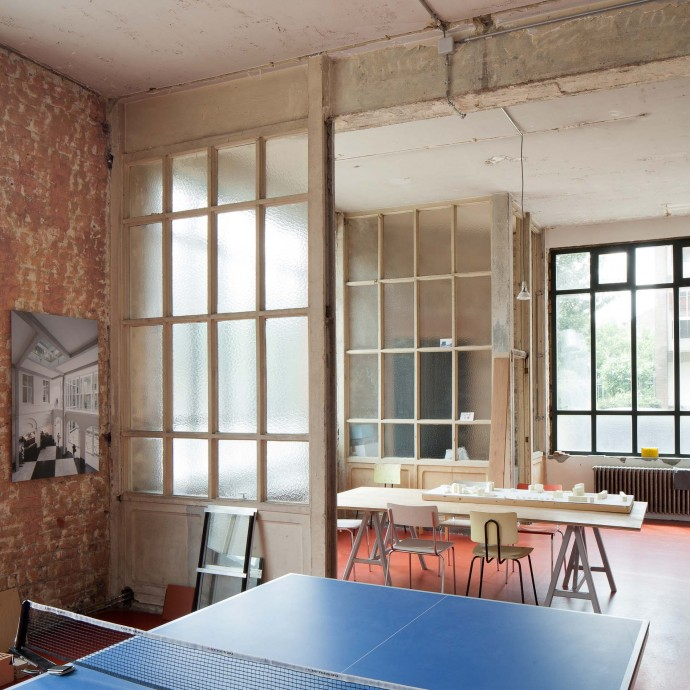 NOA architects office Brussels